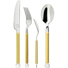 Giannini Mix Collection Cutlery Set 24 pcs 2.5 mm Yellow