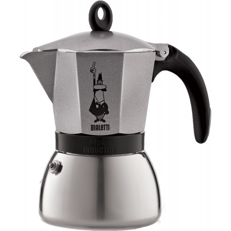 Moka induction antracite