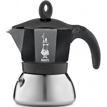 Bialetti Moka Induction Black Kawiarka na Indukcję