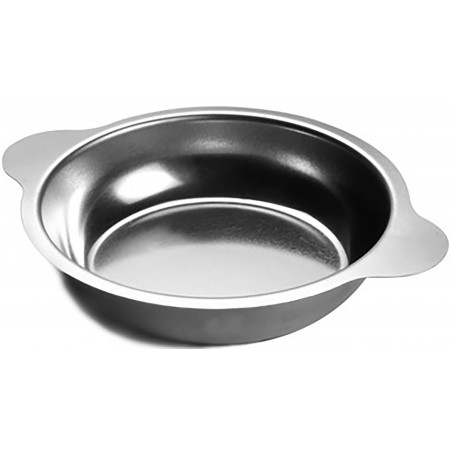 Stainless steel pan for cooking eggs