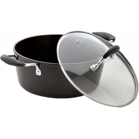 Bialetti Impact Induction Plus Casserole Two Handles With Lid