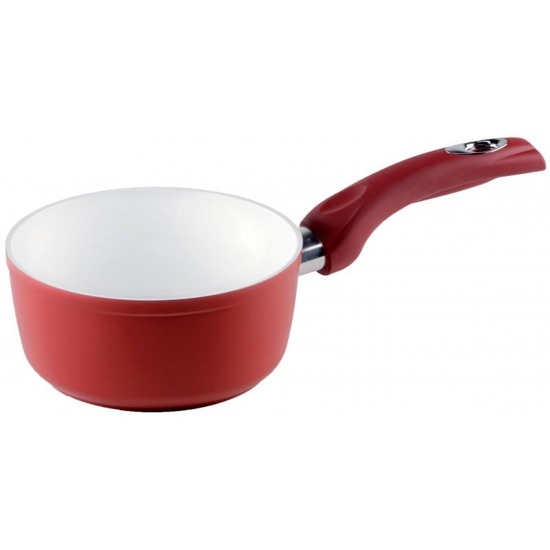 Rondel z jednym uchwytem Red Ceramic