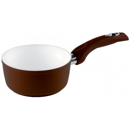 Bialetti Brown Ceramic Induction Casserole With One Handle