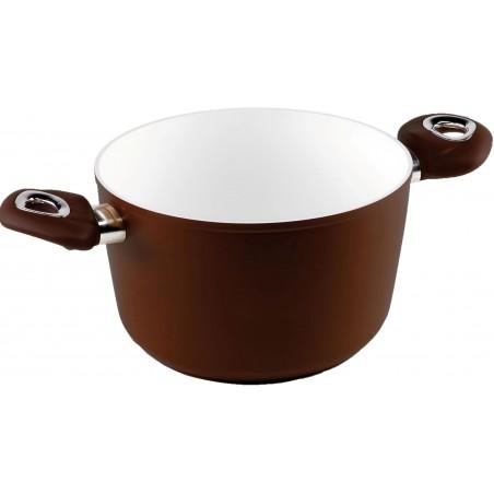 Bialetti Brown Ceramic Induction Garnek na Indukcję