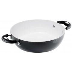 Bialetti Black Ceramic Patelnia Głęboka