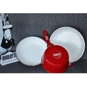 Bialetti Glossy Red Rondel 16 cm