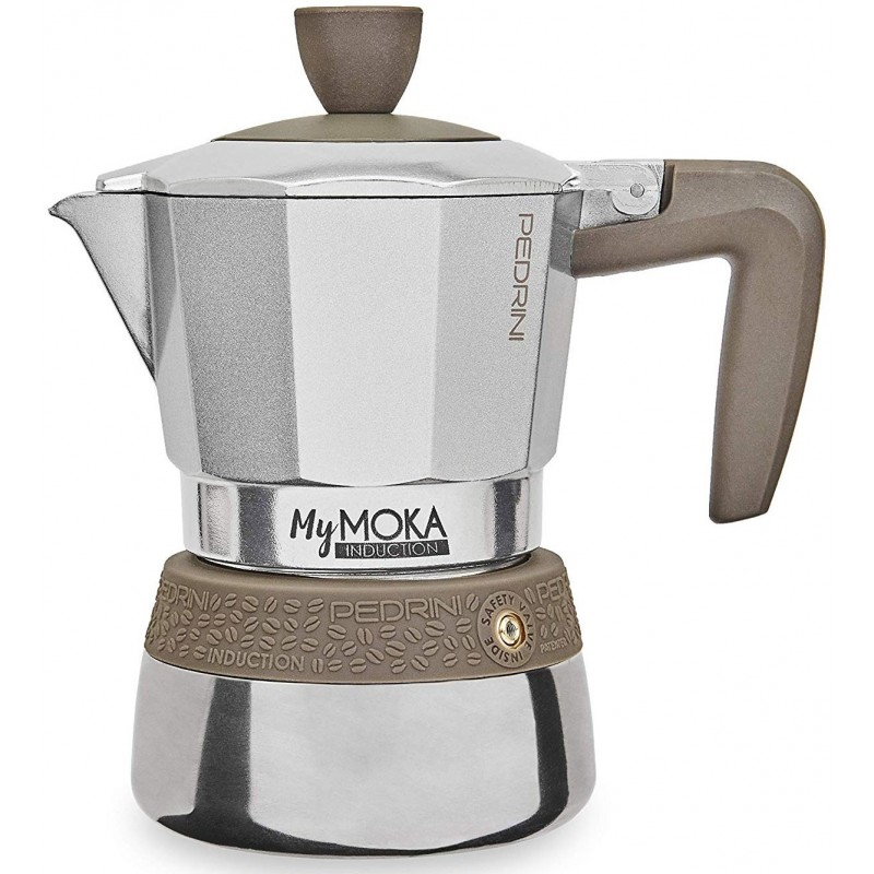 Pedrini MyMOKA Induction Coffee-Maker