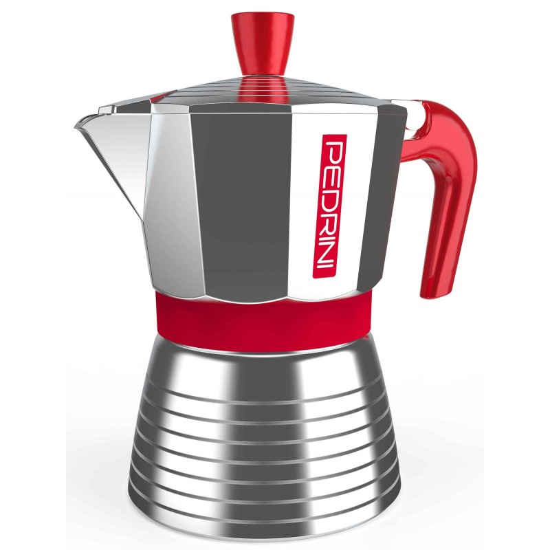 Pedrini Infinity Red Cofffee-Maker