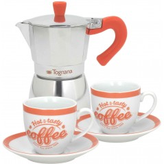 Tognana Coffee Time SET 3 YOU&ME Coffee-Maker