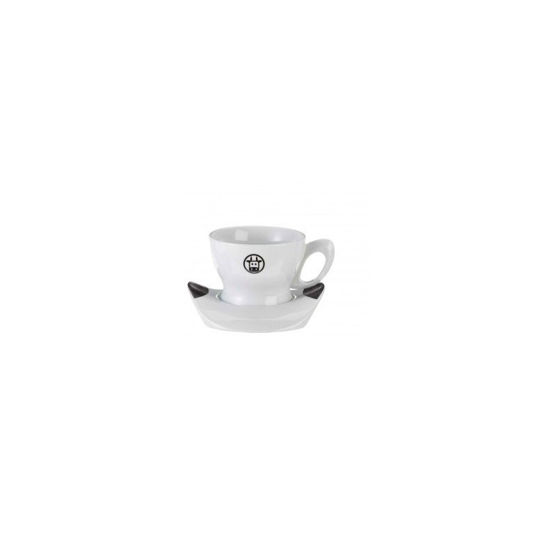 Bialetti Mukka Set 2 x 250 Cups With Saucers