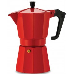 Pezzetti Italexpress Red Aluminium Coffeee Maker