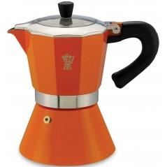 Pezzetti Bellexpress Induction Orange Coffee-Maker