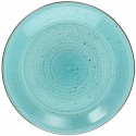Tognana Art & Pepper Turchese Turquoise Dinner Plate 27 cm