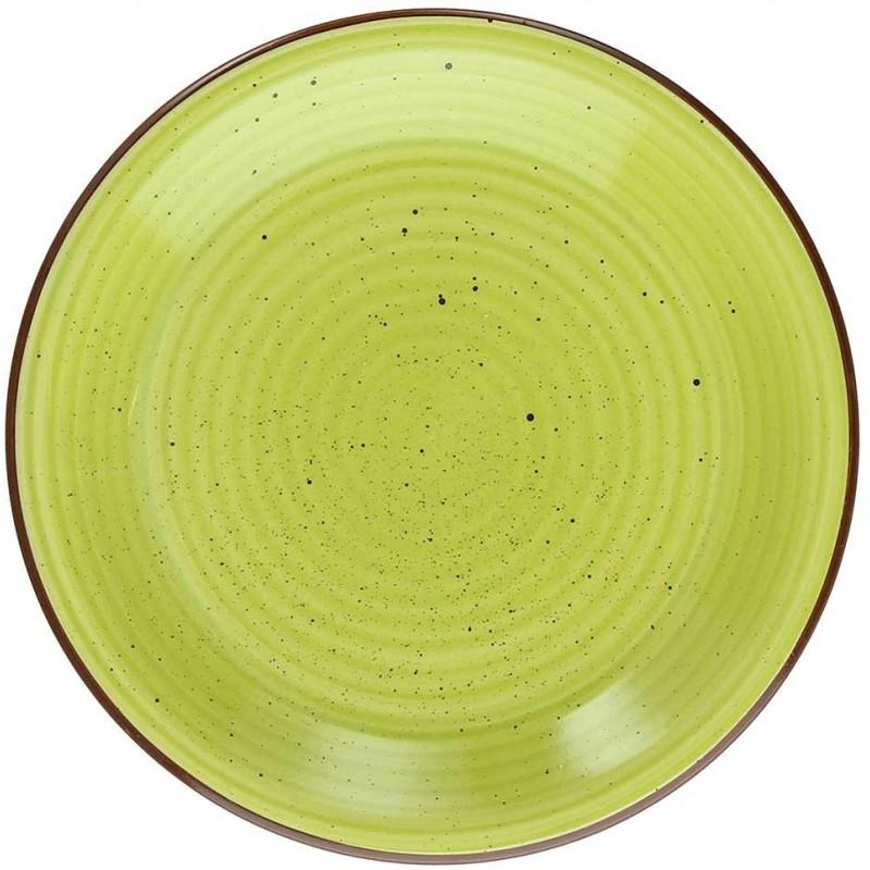 Tognana Art & Pepper Verde Green Soup Plate 21 cm