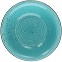 Tognana Art & Pepper Turchese Turquoise Soup Plate 21 cm
