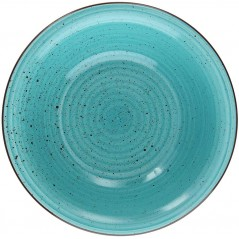 Tognana Art & Pepper Turchese Turquoise Talerz do Zupy 21 cm