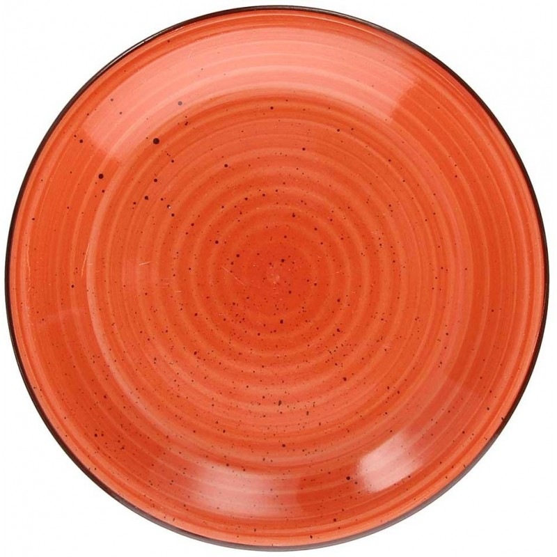 Tognana Art & Pepper Aragosta Orange Dessert Plate 19 cm
