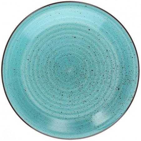 Tognana Art & Pepper Turchese Turquoise Dessert Plate 19 cm