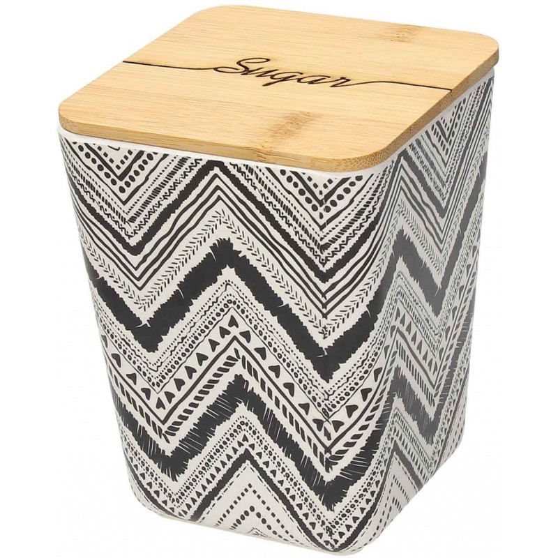 Tribal Chic Jar with Cover 11 X 11 X 14,50 cm