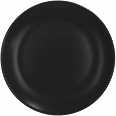 Tognana Fabric Black Soup Plate 22 cm