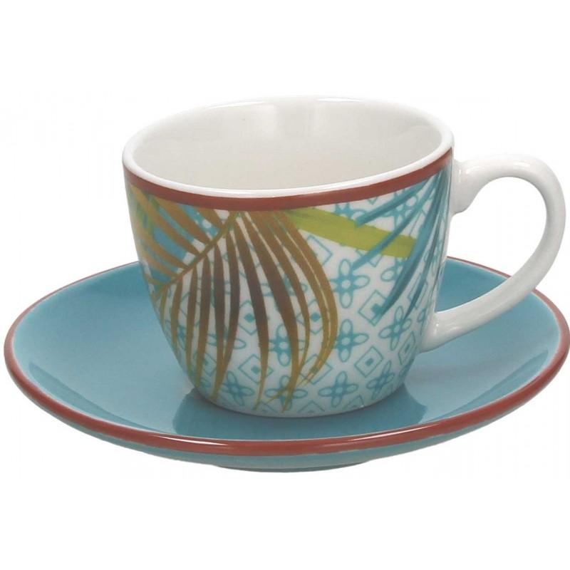 Tognana Jungle Set 6 Coffee Cup & Sauce 100 CC
