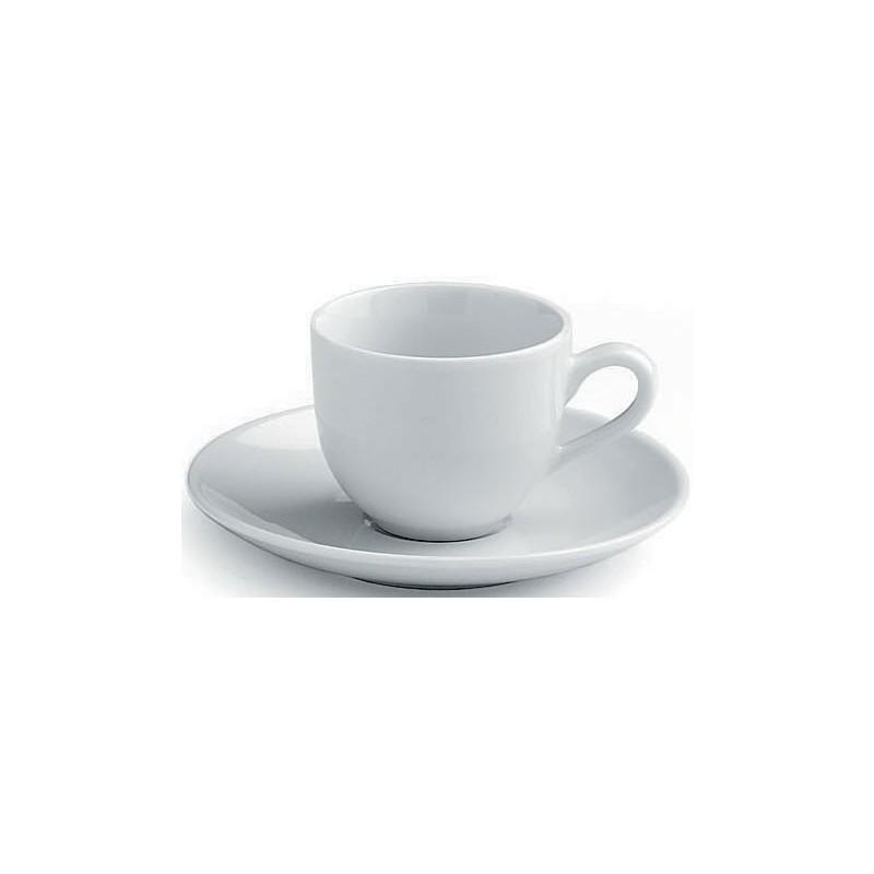 Tognana Metropolis Komplet 6 Filiżanek z Podstawkami Coffee 80 CC