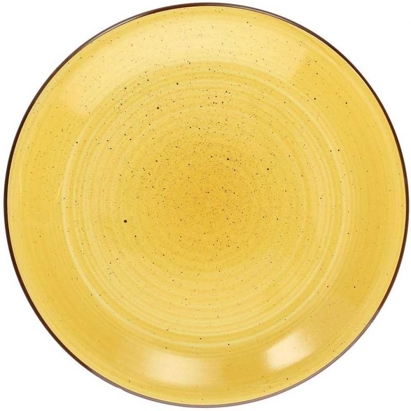Tognana Art & Pepper Giallo Yellow Soup Plate 21 cm