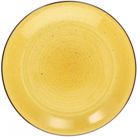 Tognana Art & Pepper Giallo Yellow Dessert Plate 19 cm