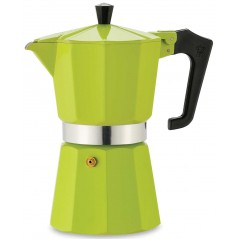 Pezzetti Italexpress Green Aluminium Coffeee Maker