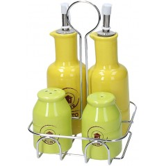 Tognana Rustic Color Menage Oil/Vin./Pepper/Salt