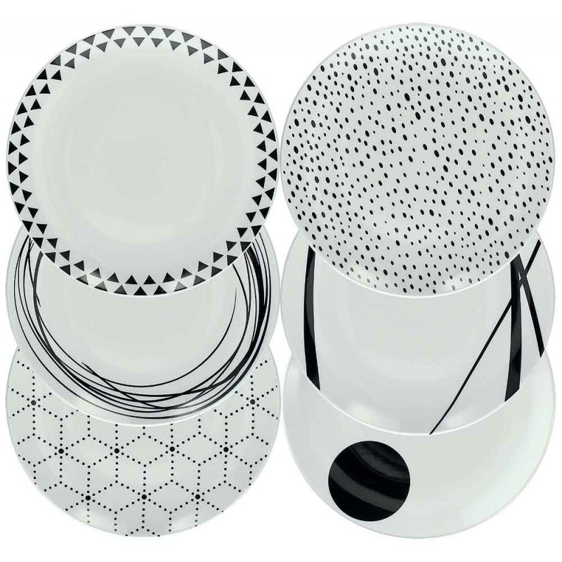 Tognana Graphic Table Set 18 Pcs.