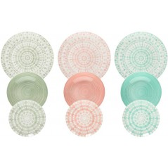 Tognana Gipsy Soft Table Set 18 pcs