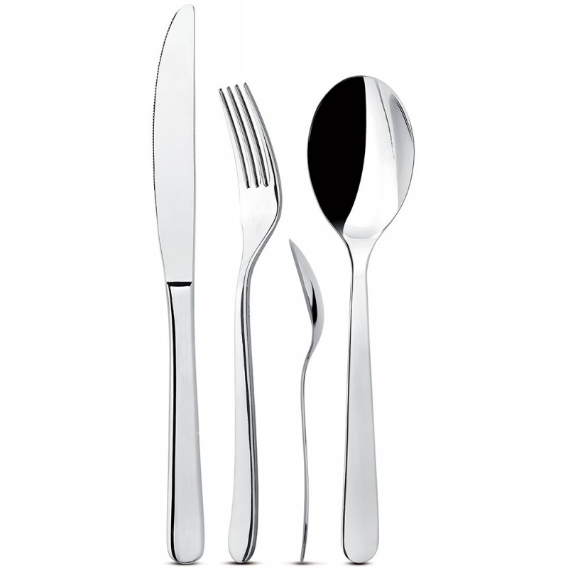 Giannini Mix Collection Cutlery Set 24 pcs 2.5 mm Lilac