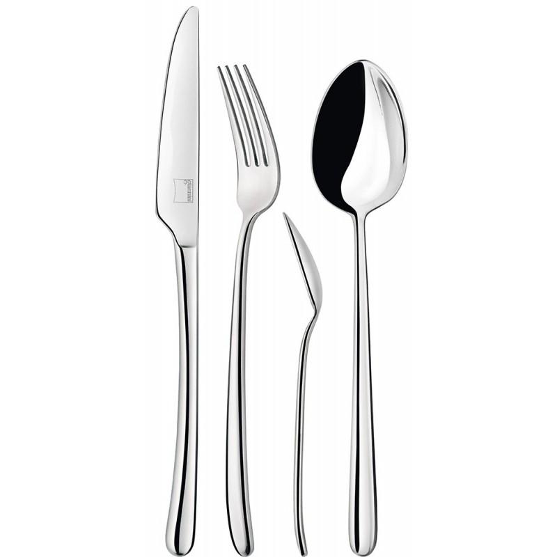 Giannini Mix Collection Cutlery Set 24 pcs 2.5 mm Fuchsia
