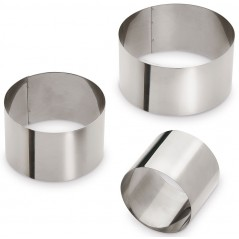 Giannini Set 3 Round Moulds