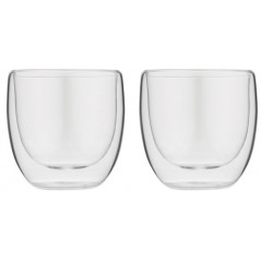 Forever Set of 2 Thermal Cups for Espresso