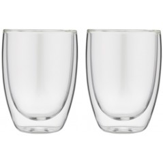Forever Set of 2 Thermal Cups for Cappuccino