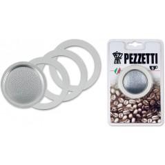 Pezzetti 3 Uszczelki i Sitko