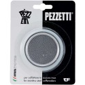 Pezzetti 3 Seal and Filter for Stainless Steal Coffeee Makers