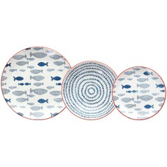Tognana Saint Tropez Tirreno Table Set 18 Pcs