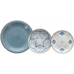 Tognana Texture Casablanca Komplet Obiadowy 18 Szt