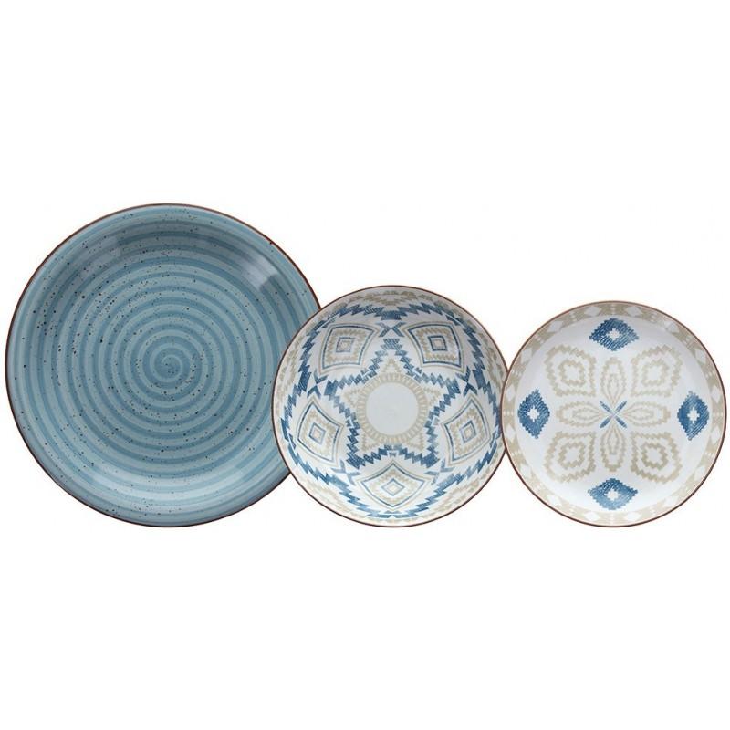 Tognana Texture Casablanca Table Set 18 Pcs