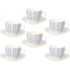 Tognana Contemporary Down Town Set of Tea Cups 270 ml