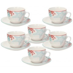 Tognana Saint Tropez Alyssa Set of Tea Cups 270 cc