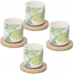 Tognana Natural Taste Bali Set of Coffee Cups 90 cc
