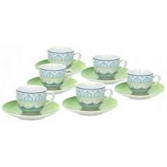 Tognana Every Day Ginger Set of Tea Cups 300 ml
