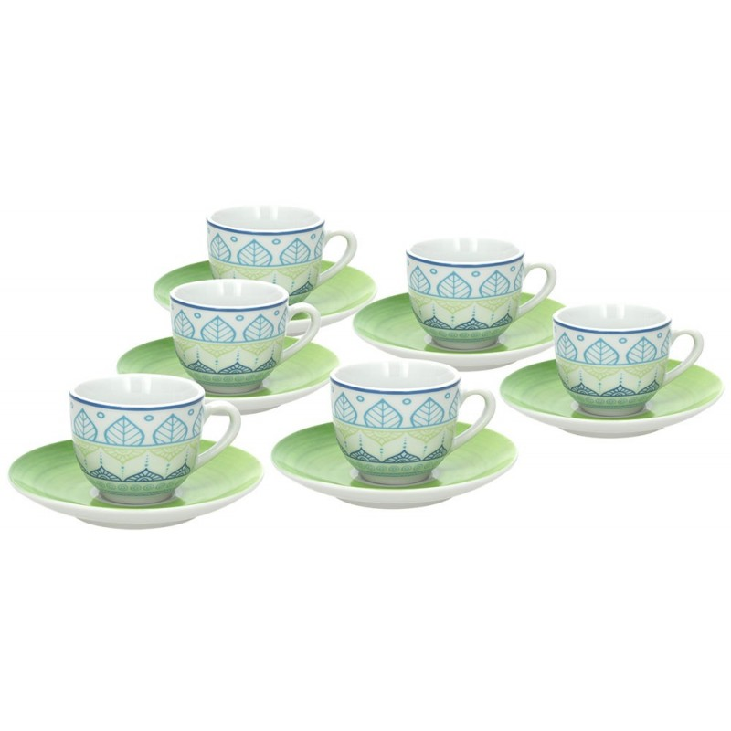 Tognana Every Day Ginger Set of Tea Cups 300 cc
