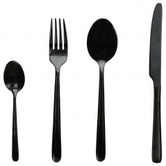 Tognana Black Set of Cutlery