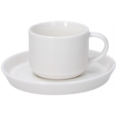 Tognana Fontebasso Polar Bianco Set of 6 Coffee Cups 90 cc