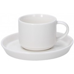 Tognana Fontebasso Polar Bianco Set of 6 Tea Cups 200 cc